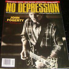 NO DEPRESSION magazine 2007, Jon Fogerty, Levon Helm, Steve Earle, The Sadies