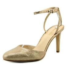 Zapatos de tacón de mujer Nine West de tacón alto (más que 7,5 cm) de color principal beige