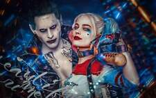 Full Drill Round or Square Drill Diamond Painting Suicide Squad Joker DIY ZS023D