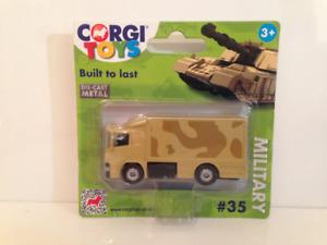 Corgi Scania Armée Camion Construit Pour Dernier #35