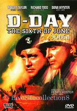 D-Day the Sixth of June (1956) - Robert Taylor, Richard Todd - DVD NEW