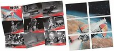 Fireball XL5 - 54 Card Basic/Base & 6 Silver Foil Set Gerry Anderson Unstoppable
