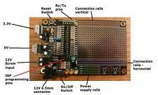 RKAT28 Prototype PCB for Arduino & ATMEL ATMega328p ATMega168p Self Build Kit