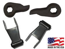 """Chevrolet GMC 4x4 K1500 3""""-2"""" Lowering Drop Adj Torsion Key Shackle Rubber"""