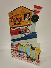 Golden Train Book by Roberta Miller Illus by Wm Dugan 1977