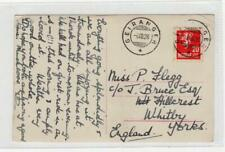 Norway: 1928 picture postcard with Geiranger postmark (C37839)