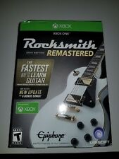 NEW Rocksmith 2014 Edition Remastered  Microsoft Xbox One Real Tone Cable