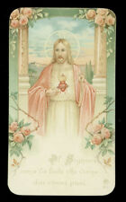 antico santino cromo-holy card ediz.AR n.911 S.CUORE DI GESU'