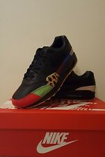 NIKE AIR MAX 1 MASTERS US 9.5 UK 8.5 BLACK 2017 PATTA PARRA ATMOS KIDROBOTS
