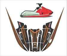 kawasaki 650 x2 650x2  jet ski wrap graphics pwc decals decal kit 1985 1995 1