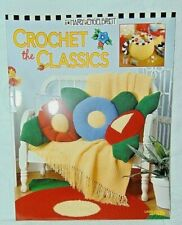 "Mary Engelbreit ""Crochet the Classics"" Pattern Book - Leisure Arts - New"