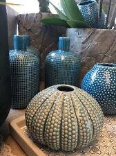 """""""Kersten"""" Vase 12x8cm Keramik Deko Impressionen Blau Maritim"""