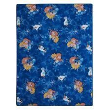 Kinder Teppich Spielteppich Eiskönigin Frozen blau 400x580 cm Elsa Olaf Anna