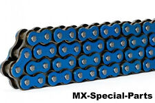 FUORISTRADA CATENA MOTO 520 HRT BLU #Extra rinforzato # MX motocross Enduro
