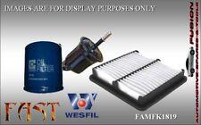 Oil Fuel Air Filter Service Kit for BMW X3 2.0L D 2007-2011