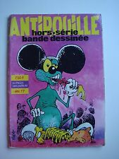 ANTIROUILLE - HORS SERIE - ETE 1977 - BANDES DESSINEES - VINTAGE