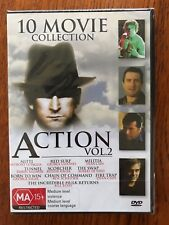 10 Movie Collection Action Volume 2 DVD Region All New & Sealed