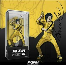 FIGPIN Bruce Lee #371 Yellow Jumpsuit 1st Edition Hard Case In Hand