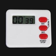 Kitchen Clock Alarm 99 Minutes Countdown Mini Timer Sport Study Rest Digit CA