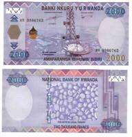 RWANDA 2000 Francs (2014) P-40 UNC Banknote
