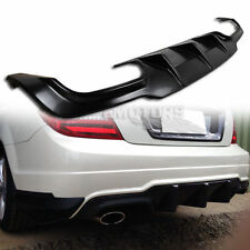 Mercedes Benz C-Class C204 2D Coupe Rear Bumper Diffuser ABS C250 12-13 Ω