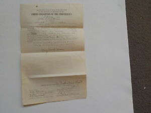 Civil War Daughters Of The Confederacy Document 16th Georgia Cavalry CSA Old VTG