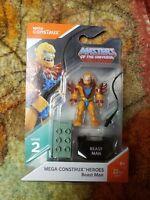 Mega Construx Beast Man Masters of the Universe MOC new