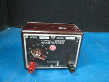 Cornell Dubilier Decade Capacitor Model CDC3 SN 15431 600VDC 220VAC Max