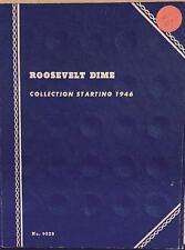 ROOSEVELT DIMES  #9029 (1946-1978) VINTAGE WHITMAN COIN FOLDER - USED  # 107