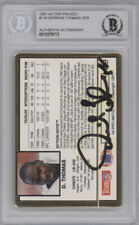 Derrick Thomas Autographed 1991 Action Packed Card #119 Chiefs Beckett 10379713
