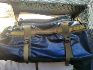 The North Face Base Camp Duffel - Medium - Black/Forest Green - Good Condition