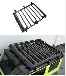 For Suzuki Jimny 2019-2020 Alloy Roof Luggage Rack Basket Metal Carrier Box