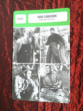 ROD CAMERON - MOVIE STAR - FILM TRADE CARD - FRENCH - #1