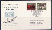 vol   /10/ lufthansa    Frankfurt  Mailand  1964