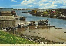 Little Harbour Eastern Shore NS Nova Scotia Vintage Postcard D11