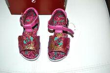 catimini chaussure neuve  24 rose fuschia fleur brille nouveaux ** clematite**