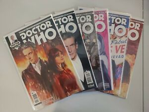 DOCTOR WHO #5A, 6B, 7A, 8A, 9B, 10B Peter Capaldi Twelfth Dr