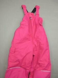 Columbia Size M(10-12) Girls Pink Omni-Tech Waterproof Insulated Snow Pants T329
