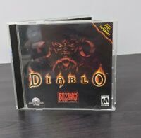 Diablo Video Game PC Original Case For Windows 95 Blizzard