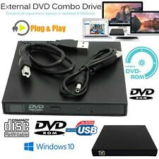 External CD RW DVD ROM CD Rewriter DVD Drive Burner Player For Macbook PC Laptop