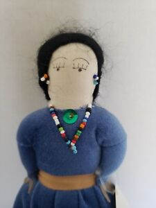 Handmade Navajo Doll Native American