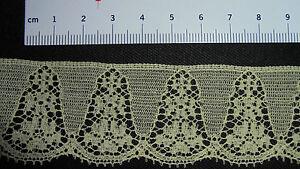 Spitze Perlonspitze Borte neu gelb ca 3,5 cm breit    3 m 1,50 € ( 1m = 0,50)