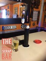 RETRO (GLASS) MICHELOB ULTRA DRAFT BEER KEGERATOR TAP HANDLE - VERY COOL !!!