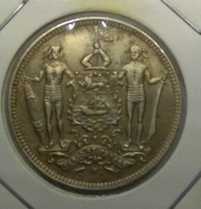 British North Borneo 1903 2 1/2 Cents