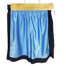 (Q2-08) Jordan Youth Small Blue Basketball Shorts Elastic Drawstring Waist