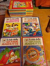 Lotto il CLUB DELLE GIOVANI MARMOTTE, picsou Magazine e Almanach de Mickey