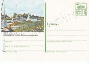 P 134 Bildpostkarte Imprimer Échantillon Bederkesa
