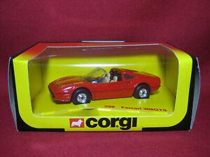 Corgi Ferrari 308GTS Vintage 1982 Diecast Model Car MIB Unused Red 298 Magnum PI