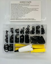 Professional Quality Scuba Diving 225 piece O-Ring Kit With 4 Picks and Grease