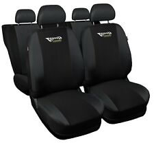 Full set car seat covers fit Seat Toledo black/grey seat cover